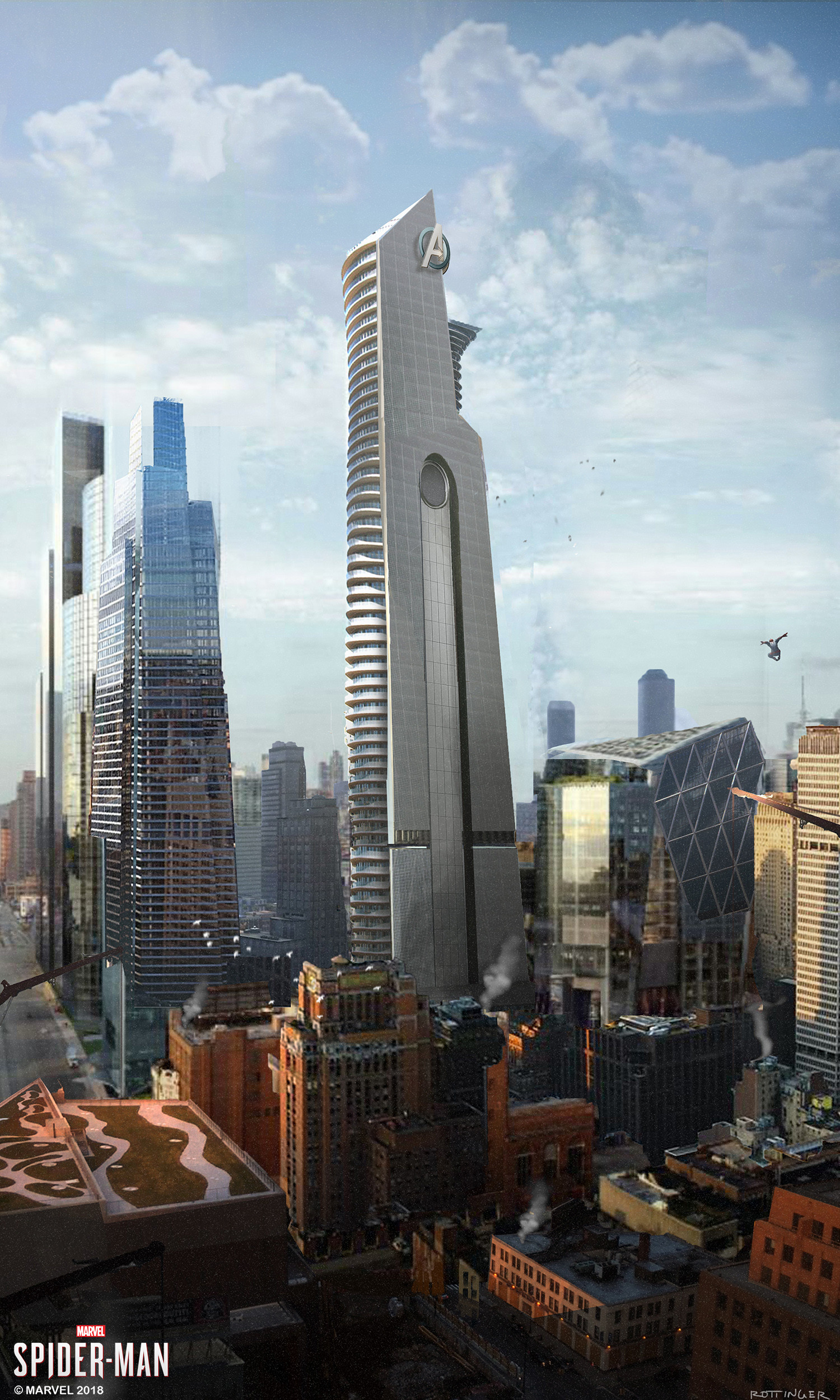Blake rottinger stark tower concept 5th pass port