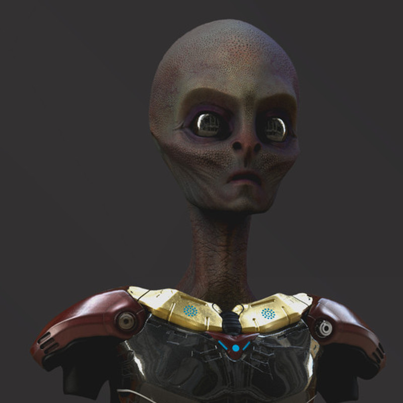 Alien Character for TreinaWeb company