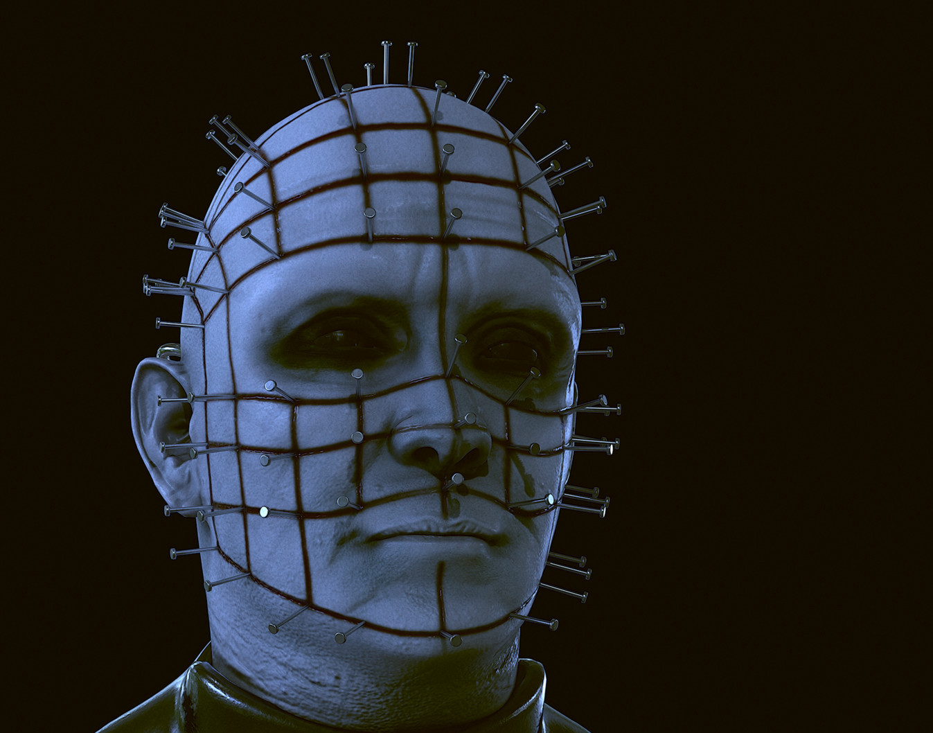 Pinhead (Hellraiser) - Fanart realtime model