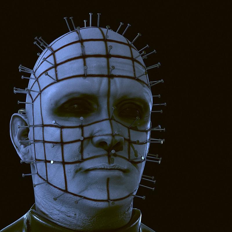 Pinhead (Hellraiser) - Fanart realtime model