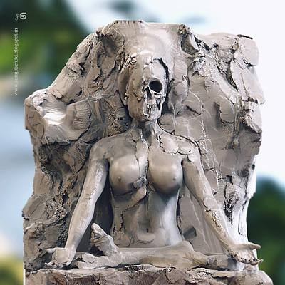Surajit sen concept sculpt lotus by surajitsen 04102018