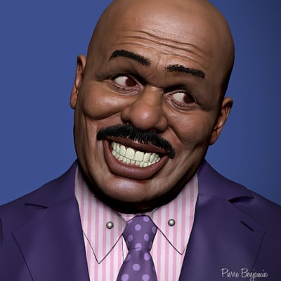 Pierre benjamin steve harvey z
