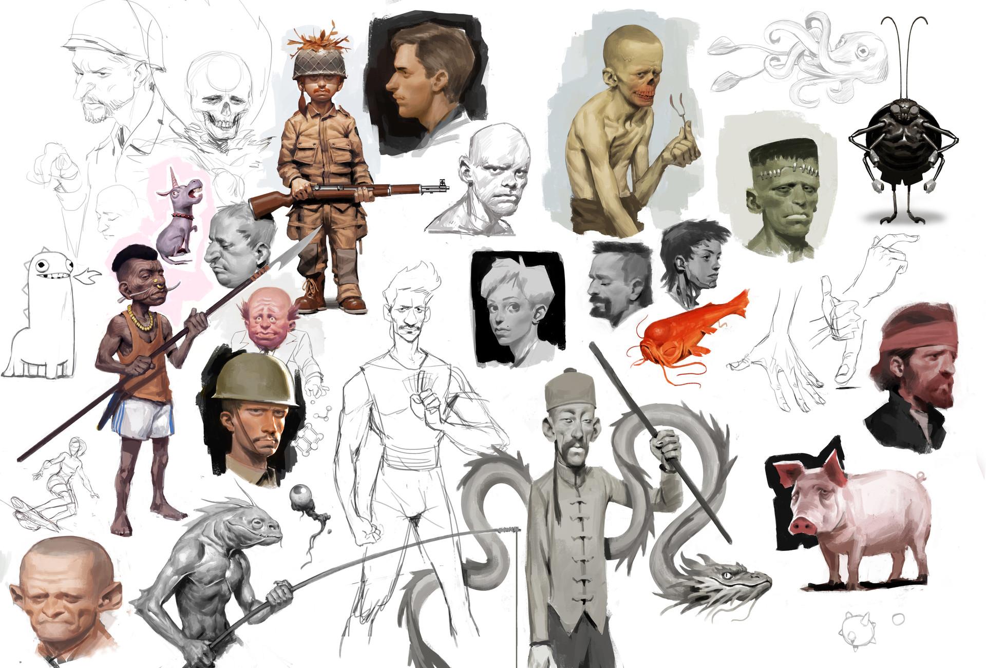 Jens claessens sketchbookpage1