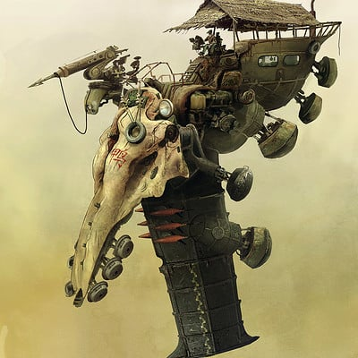 Dirk wachsmuth 01 hunters skull ship concept