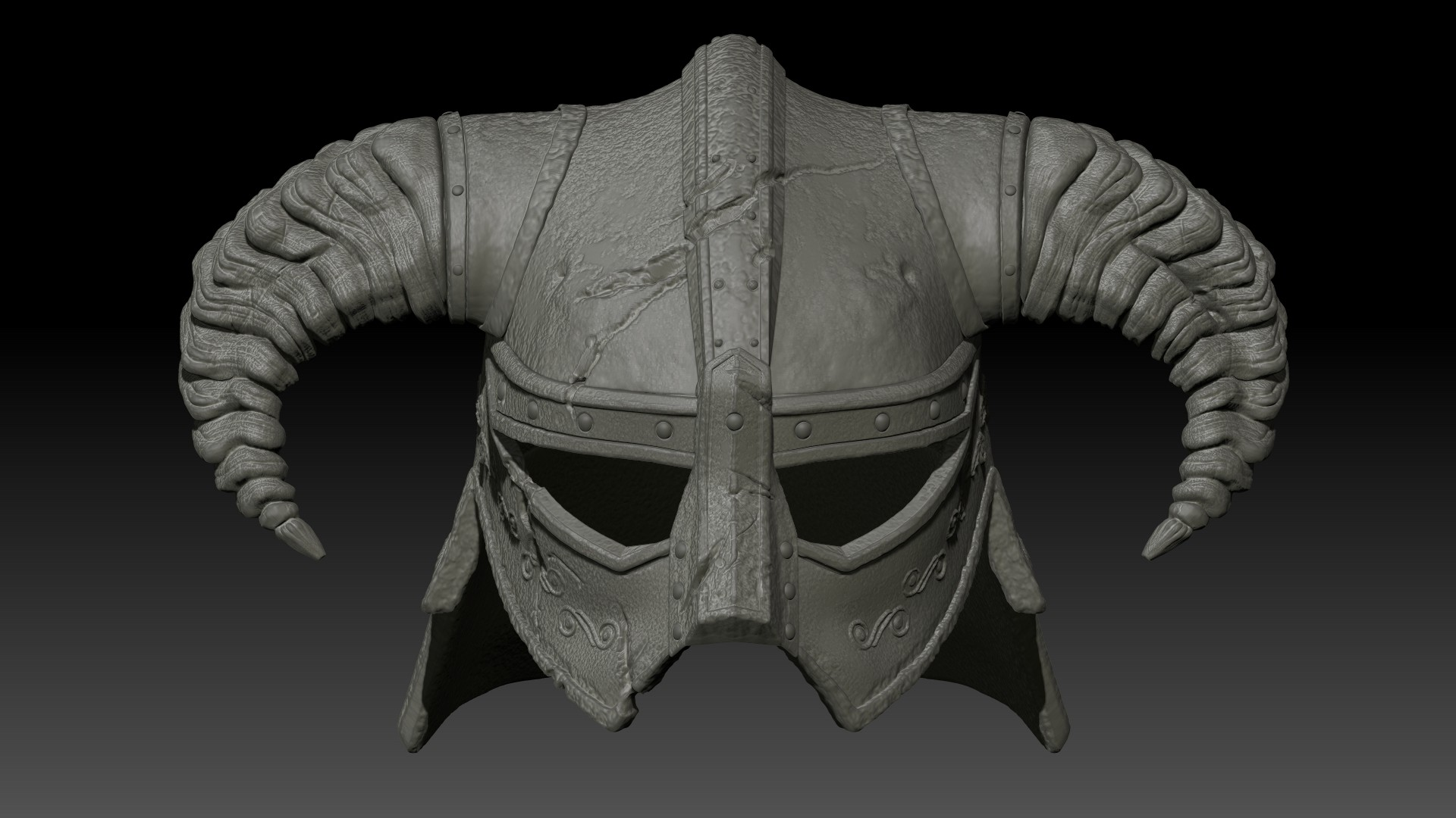 Highpoly model in Zbrush