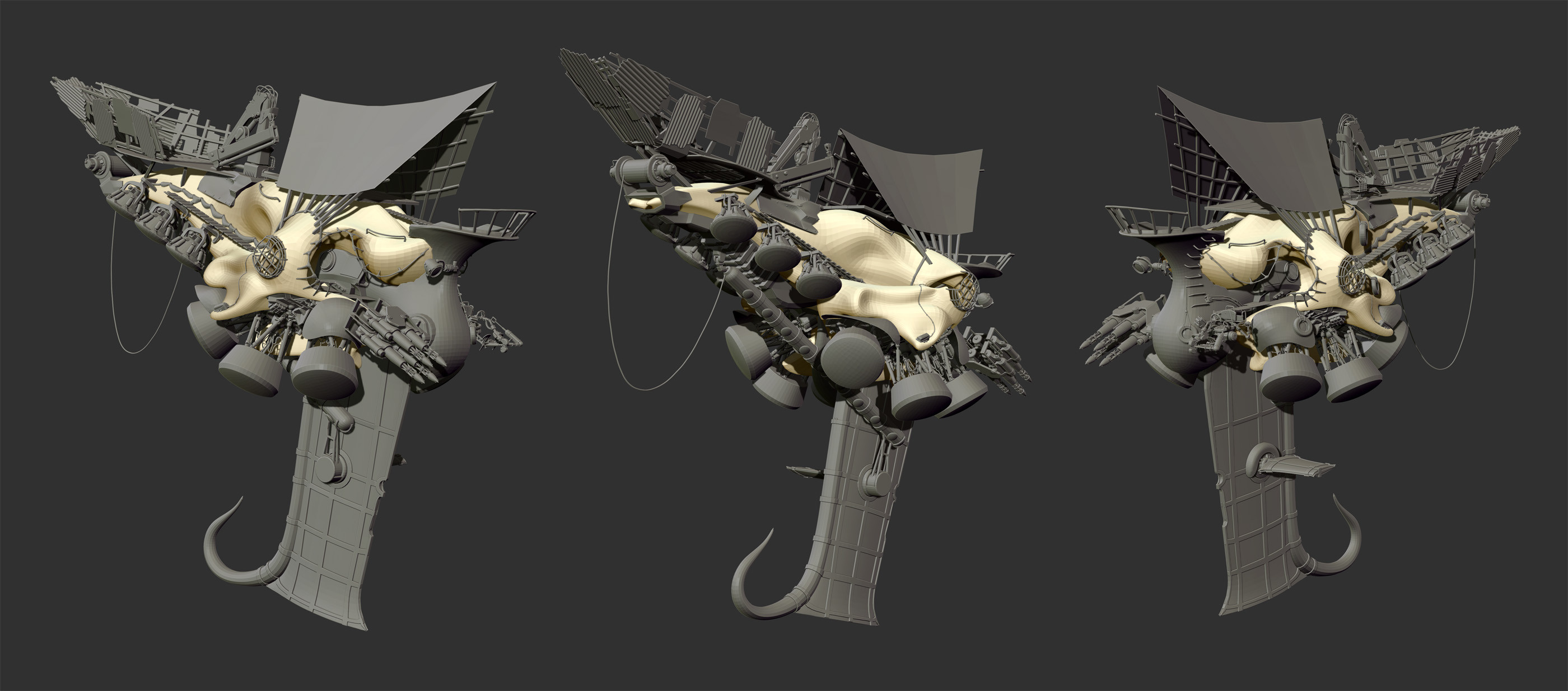 The final model in ZBrush