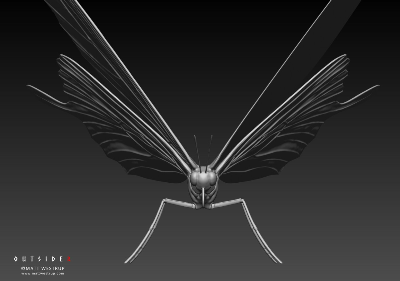 Character ark zbrush butterfly 02