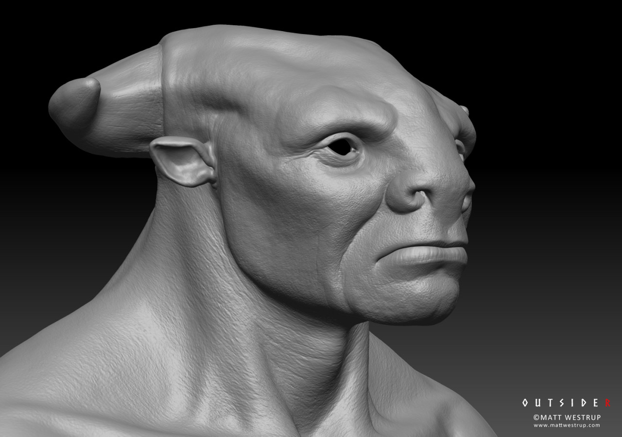 Character ark zbrush creature 02