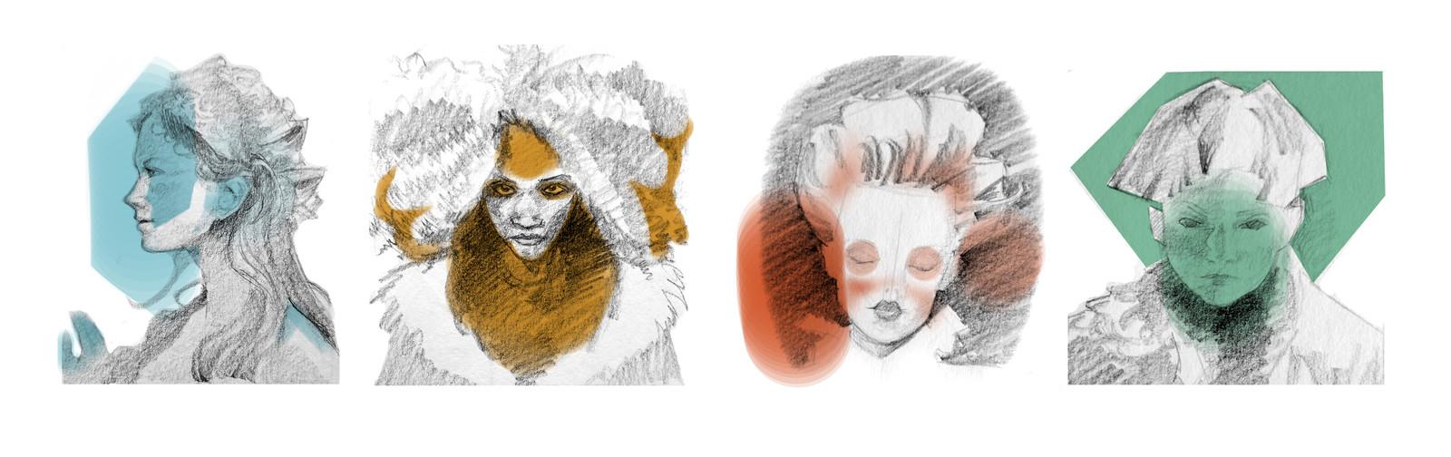 Sketchbook: Characters