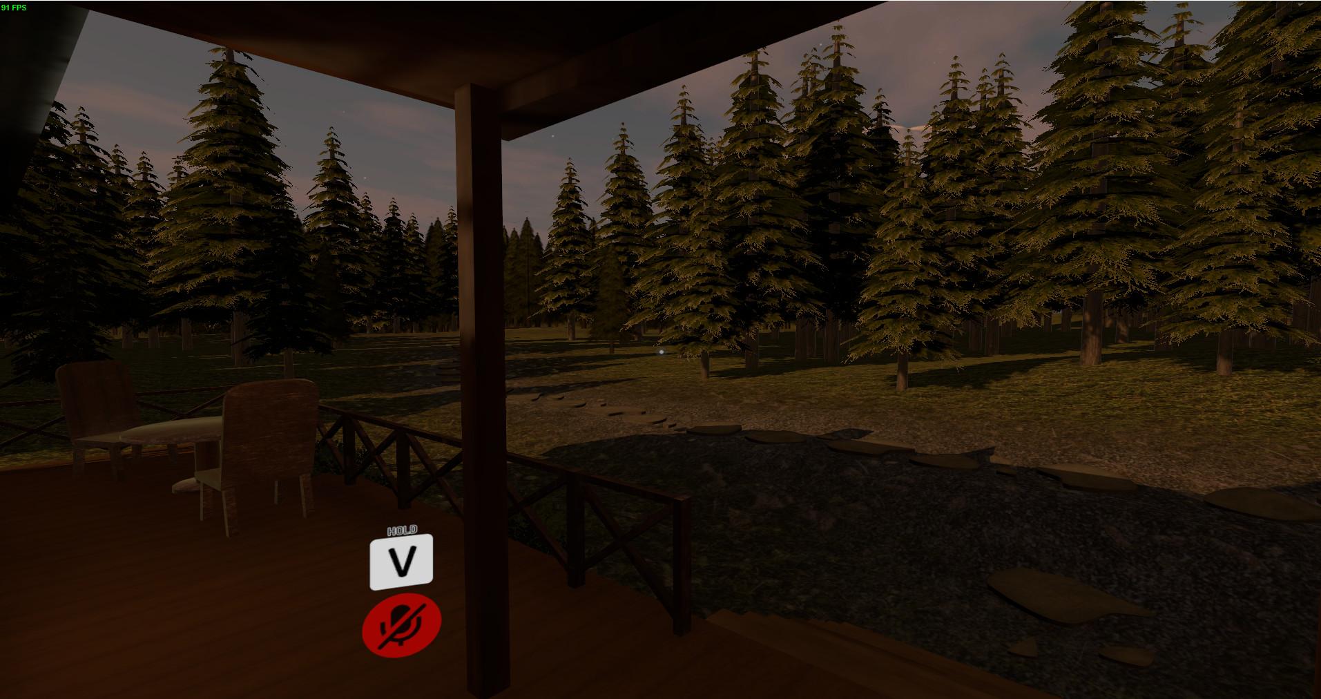 ArtStation - SAO Forest House VRchat World, Benjamin Griere