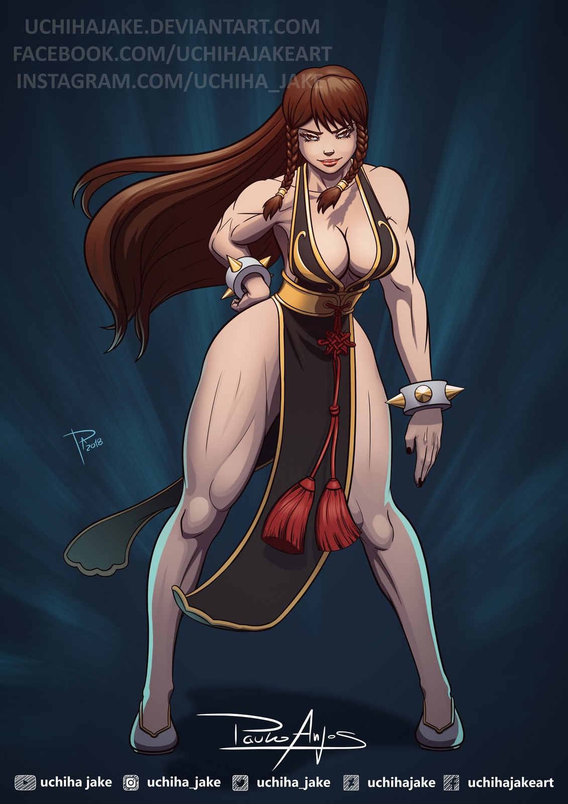 Battle Dress Chun Li