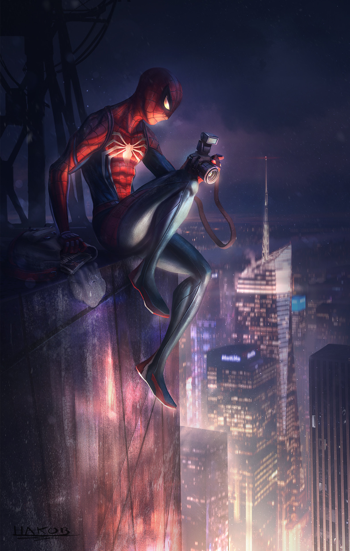 Hakob minasian hakobminasian spiderman 00