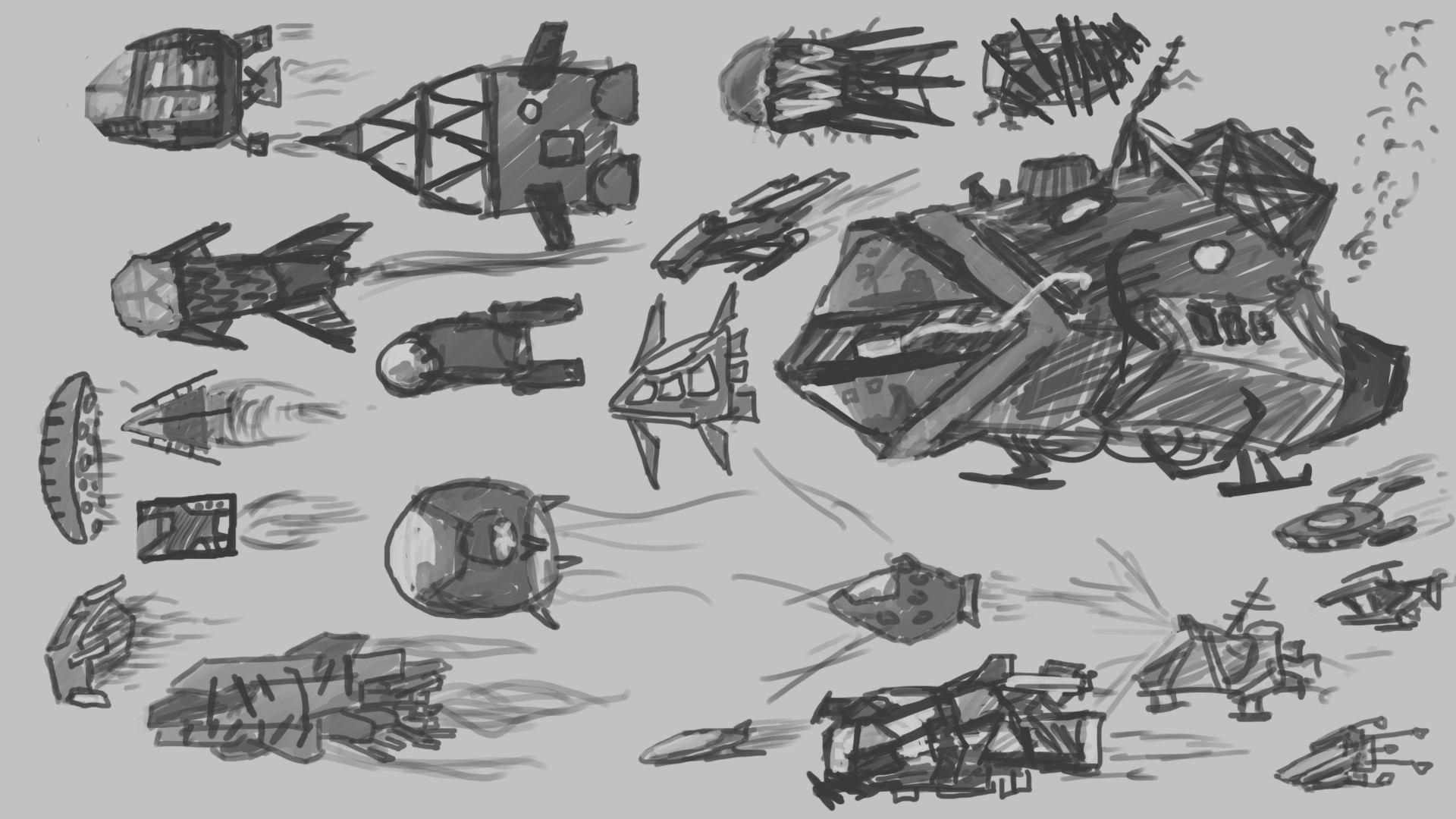 Alexander laheij submarine concepts