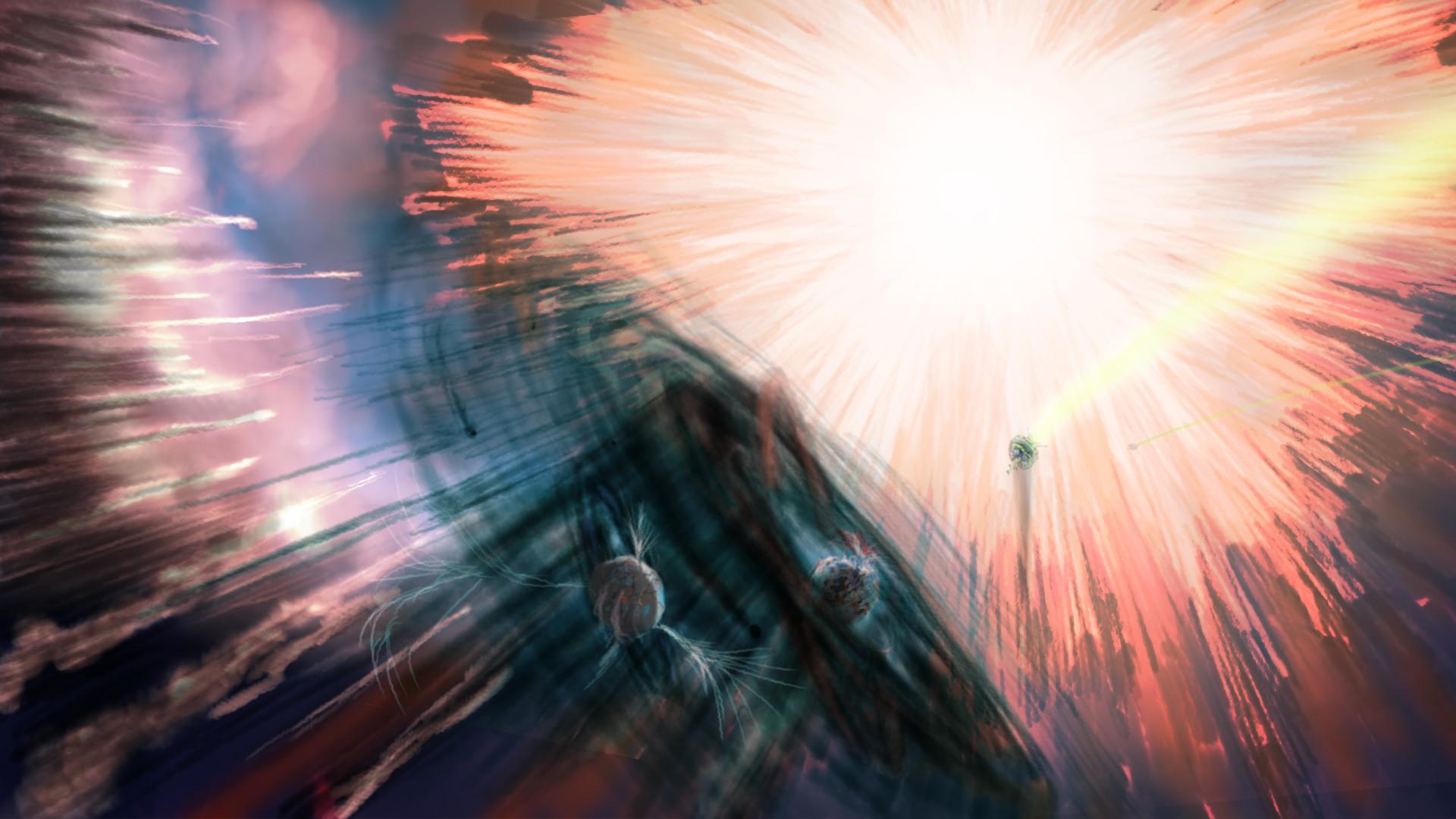 Alexander laheij birth of home planet zeon