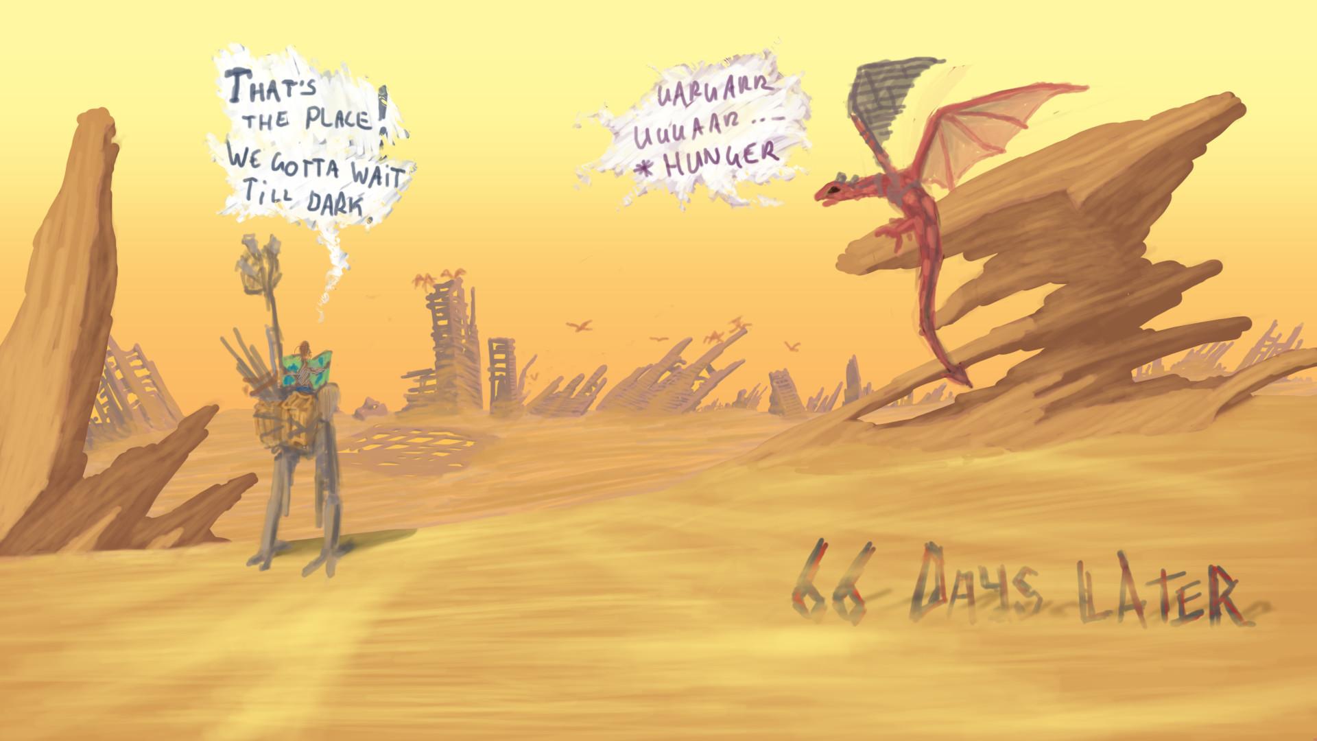 Alexander laheij desert landscape strip