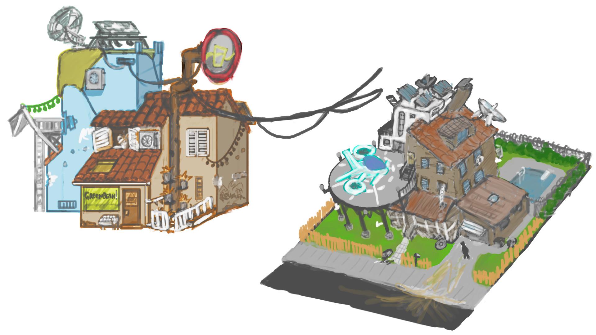 Alexander laheij portfolio concepts house bases