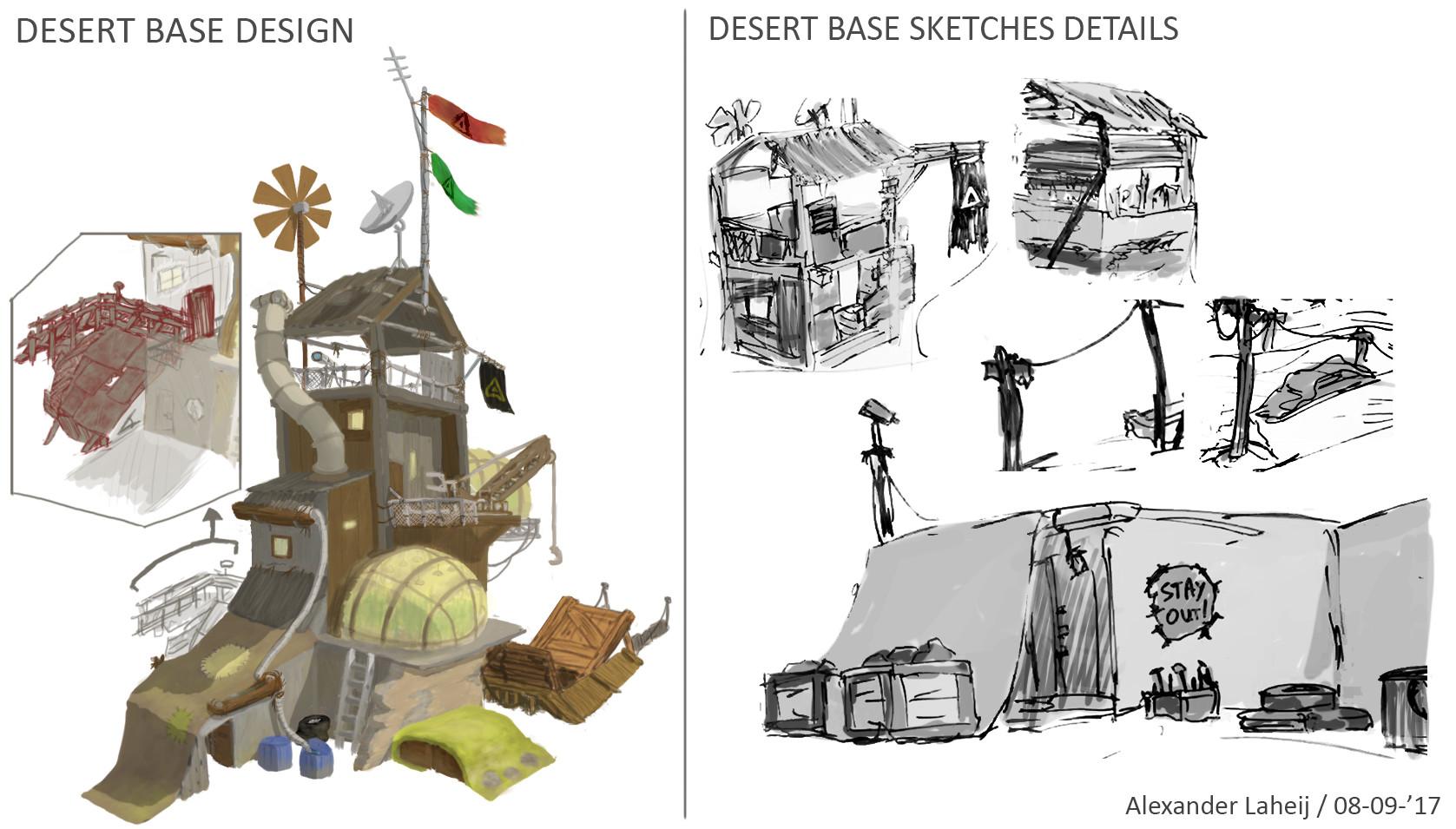 Alexander laheij concept desert base design clean