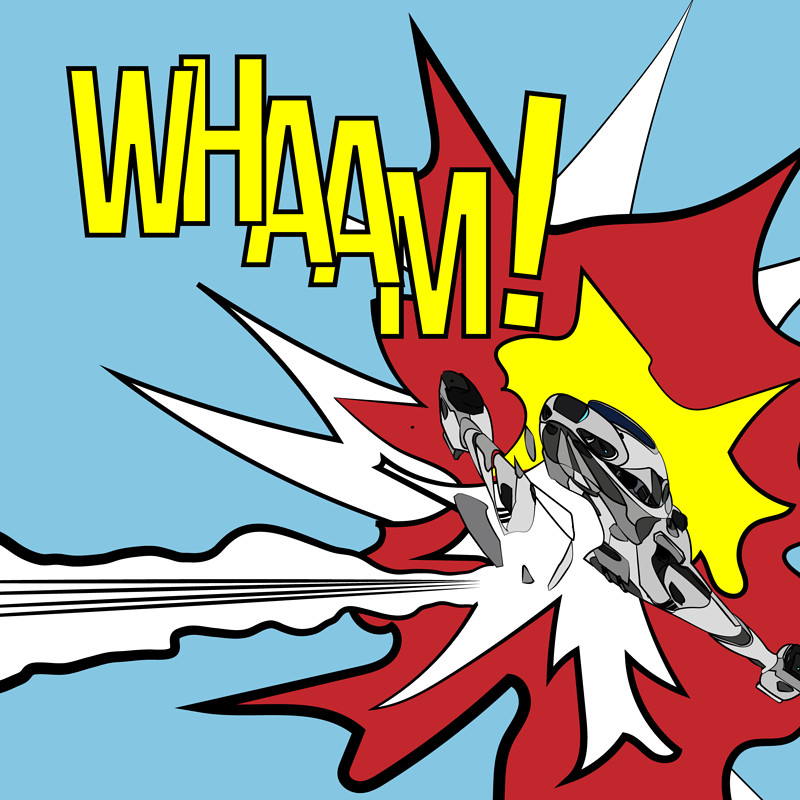 Elite Dangerous - WHAAM! 3304, a tribute to Roy Lichtenstein