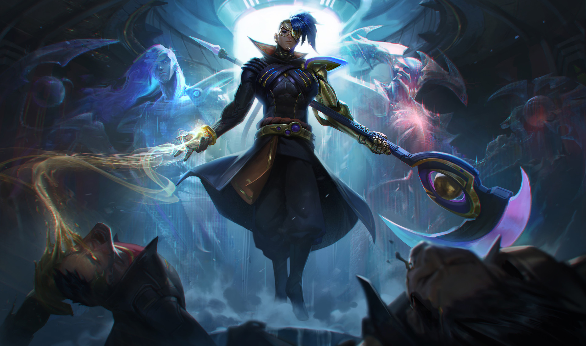 Kenichi ponnath odyssey kayn splash art hd 4k wallpaper background official art artwork league of legends lol 2