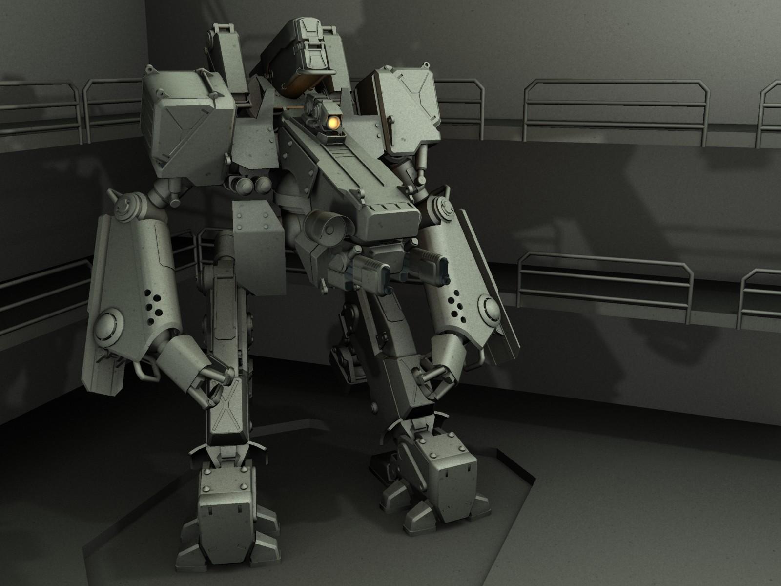 Base model, done in Max.
