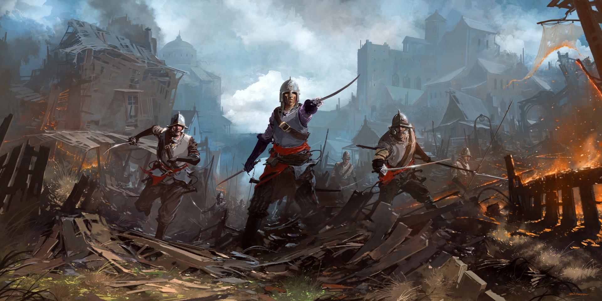 Alejandro burdisio concept medieval final