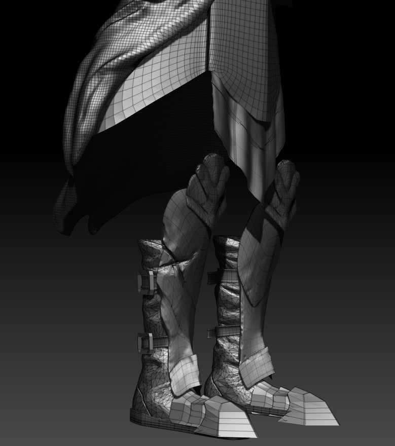 Wireframe (legs)