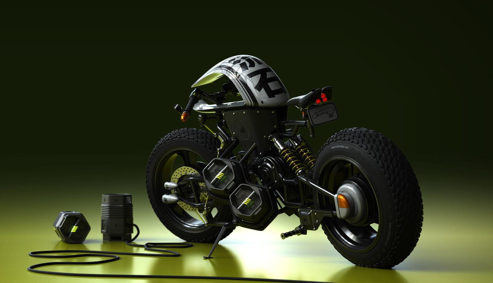 流石バイク