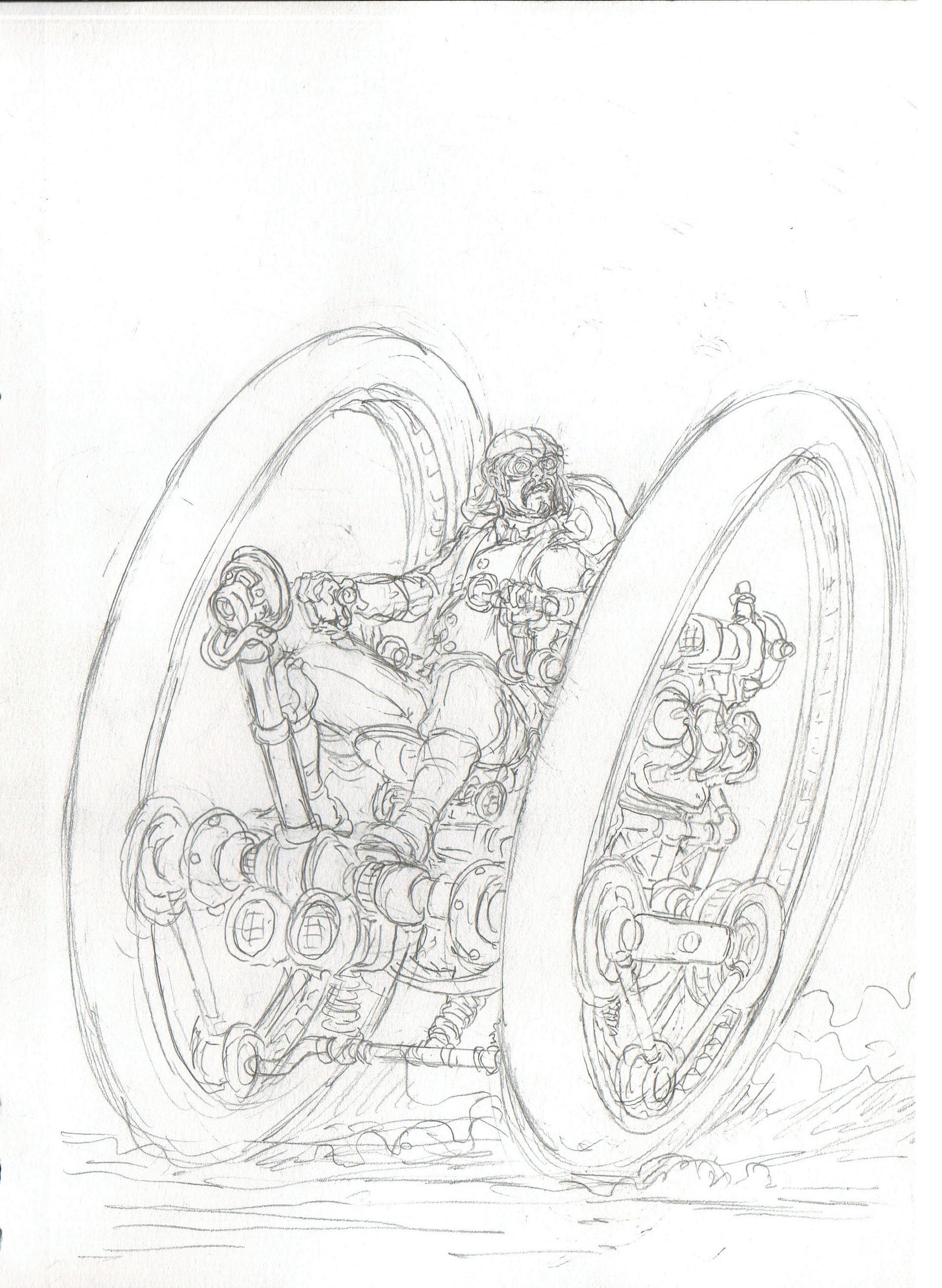Vincent bryant twowheeler sketch