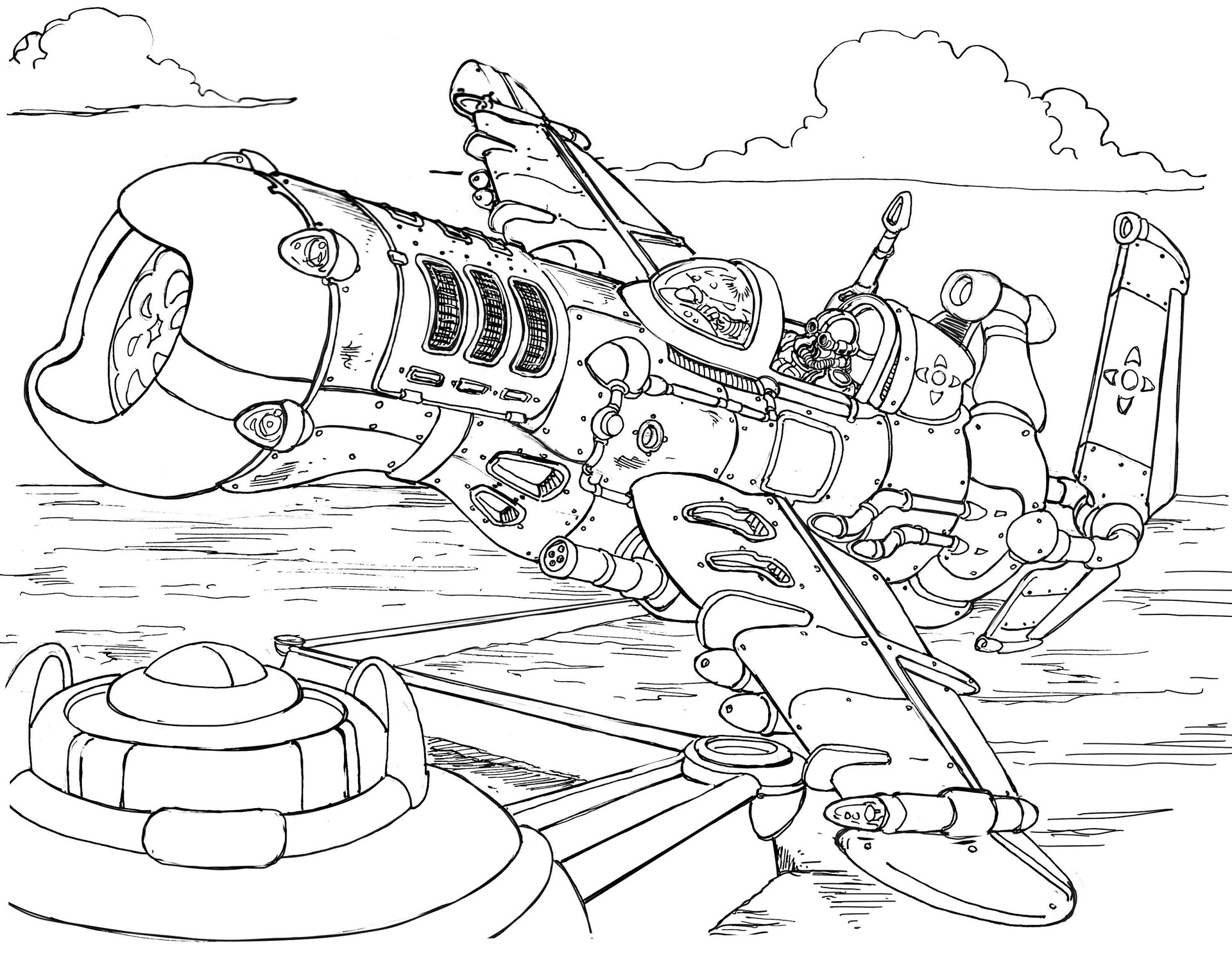 Vincent bryant attack plane 03