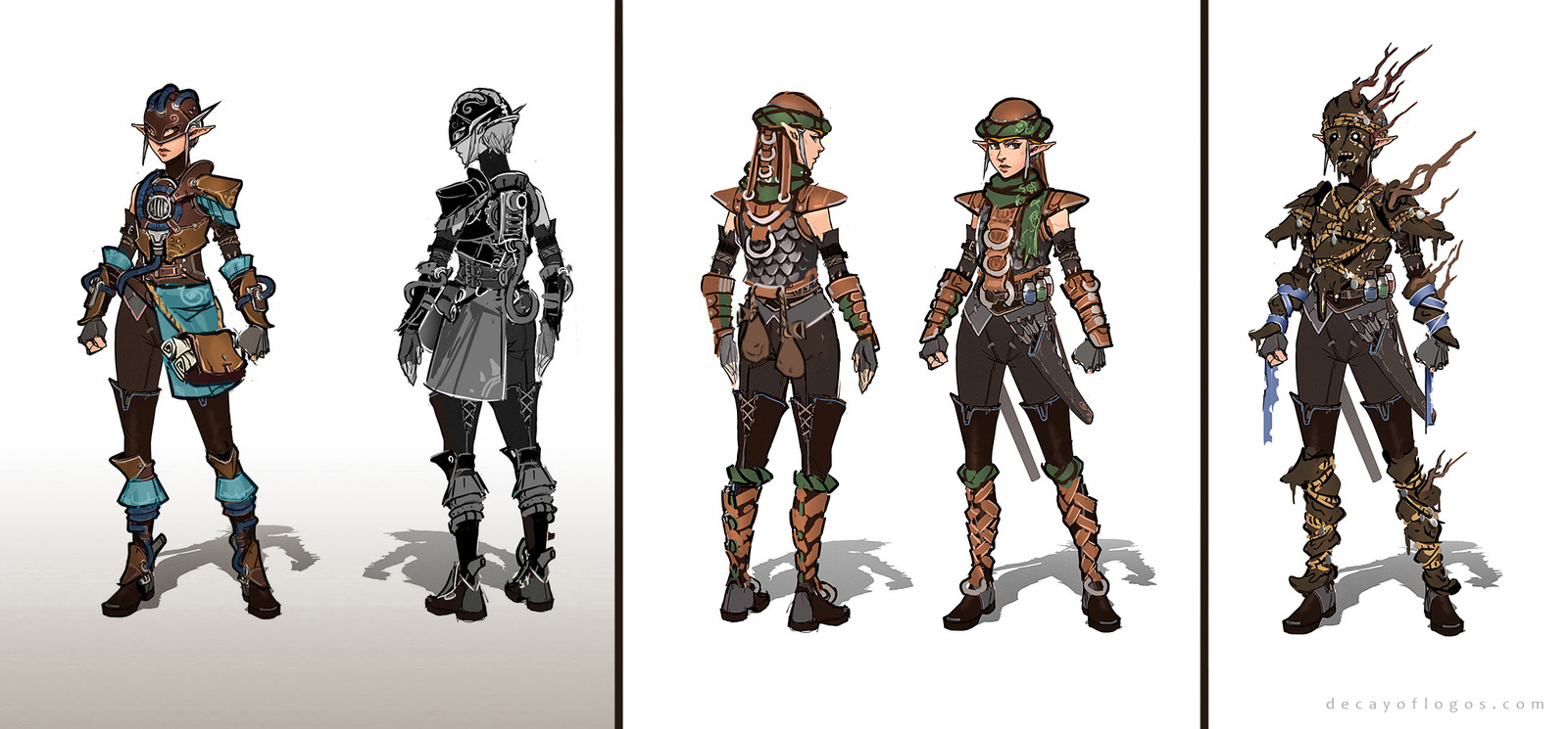 Decay of Logos - Armor Sets