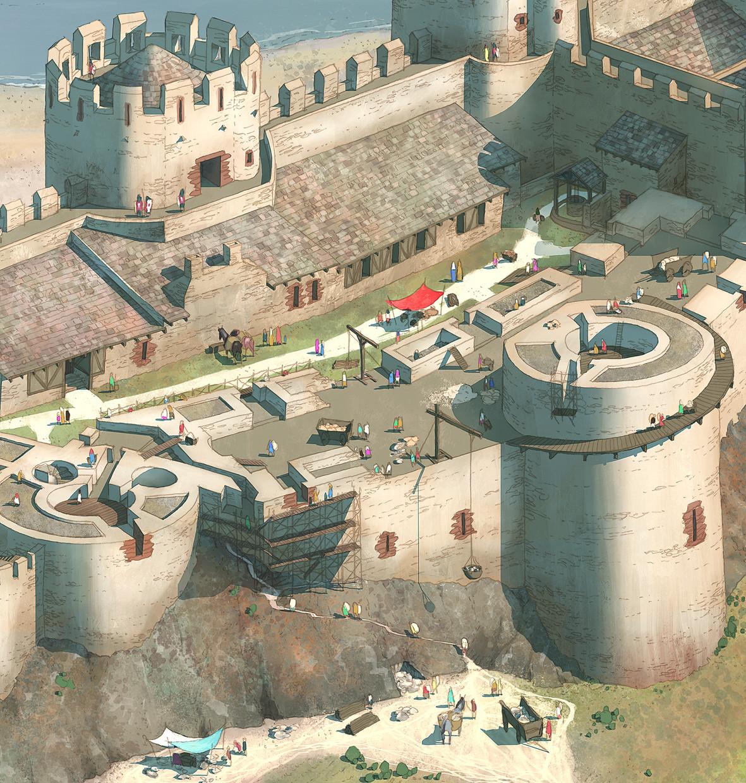 Rocio espin pinar conwy castle zoom