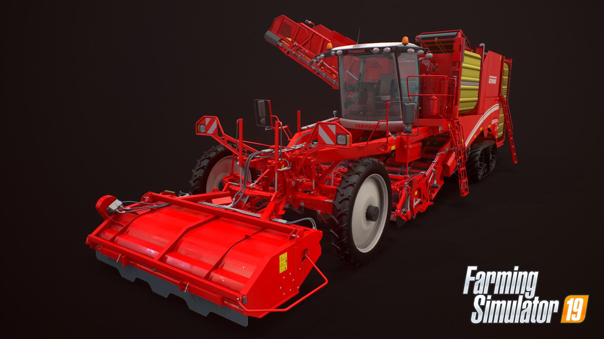 ArtStation - Farming Simulator 19: Grimme Varitron 470 Platinum