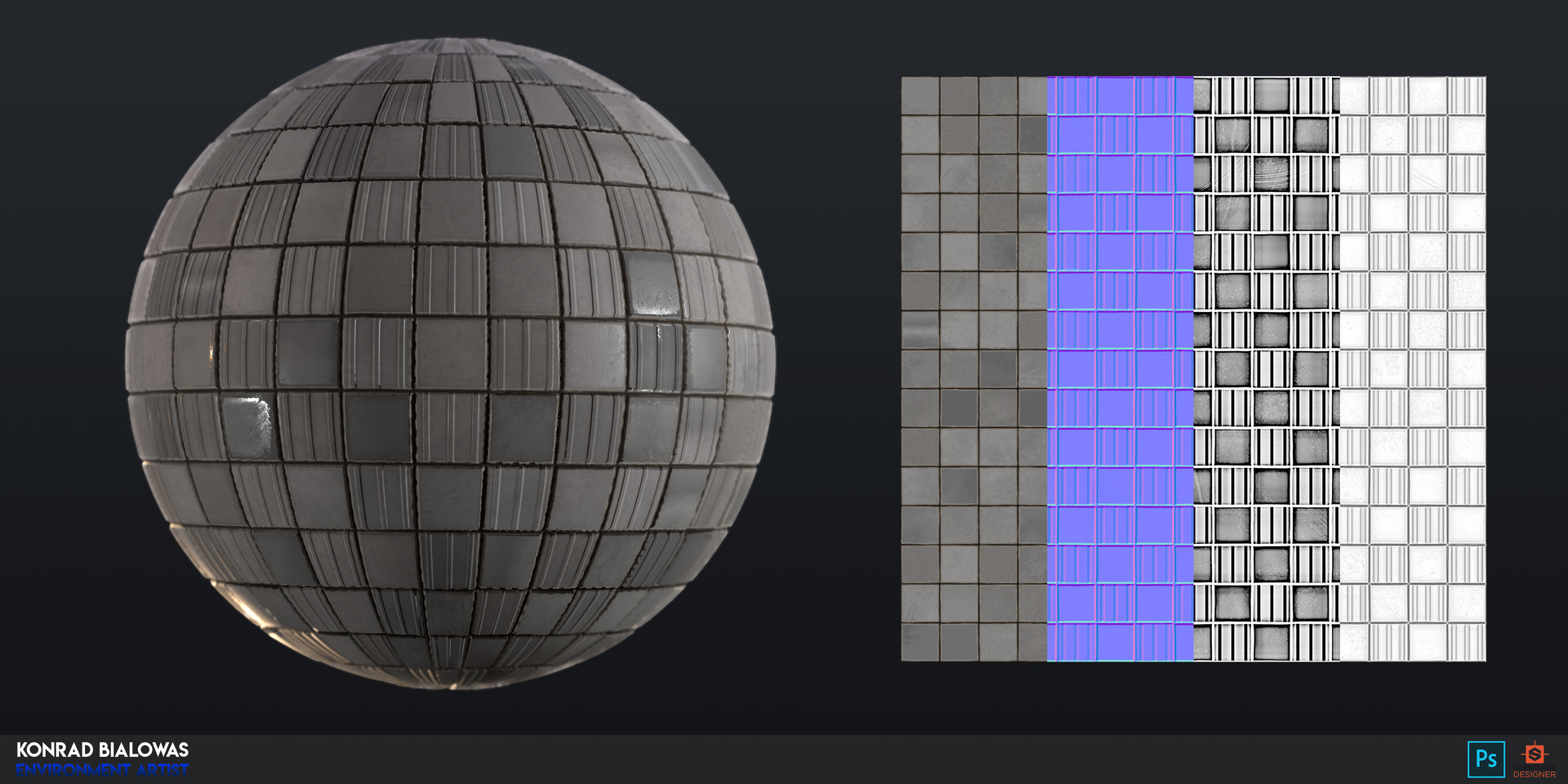 Konrx bialowas material tiles