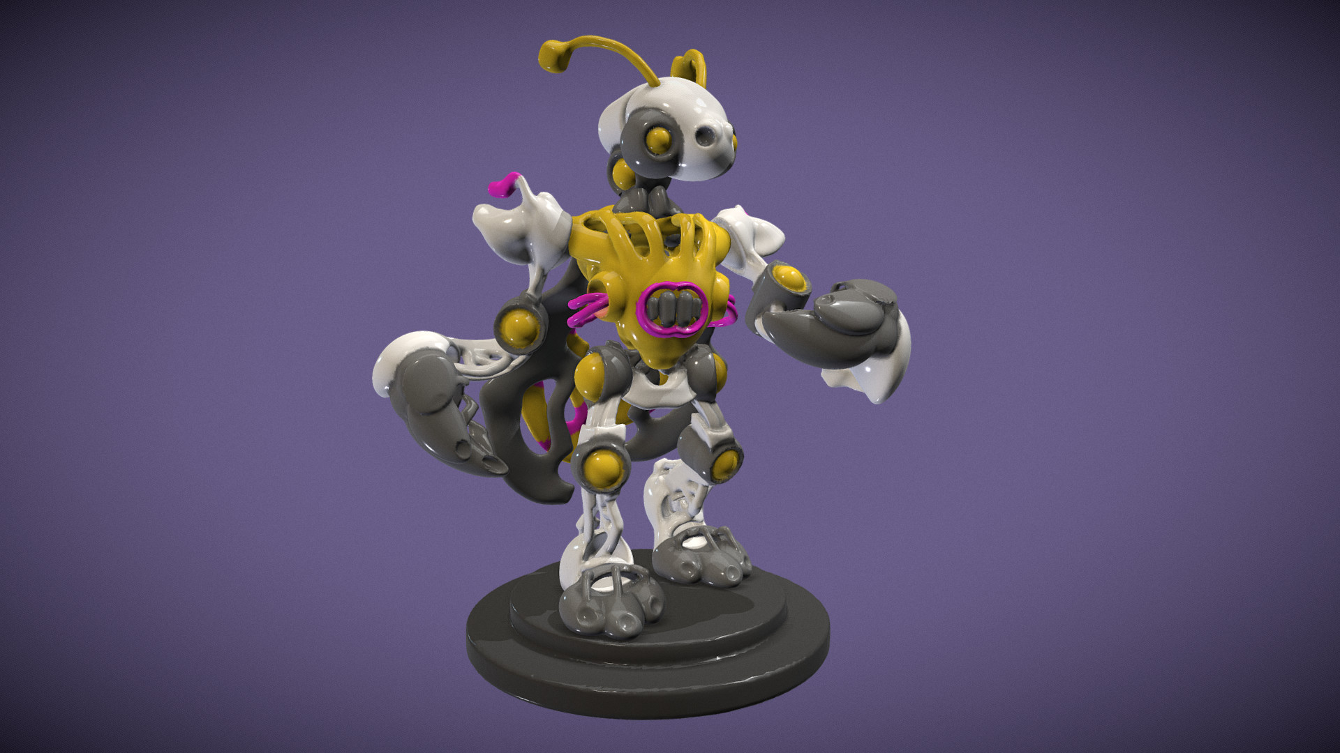 Scout windsor cute mech for oculus home