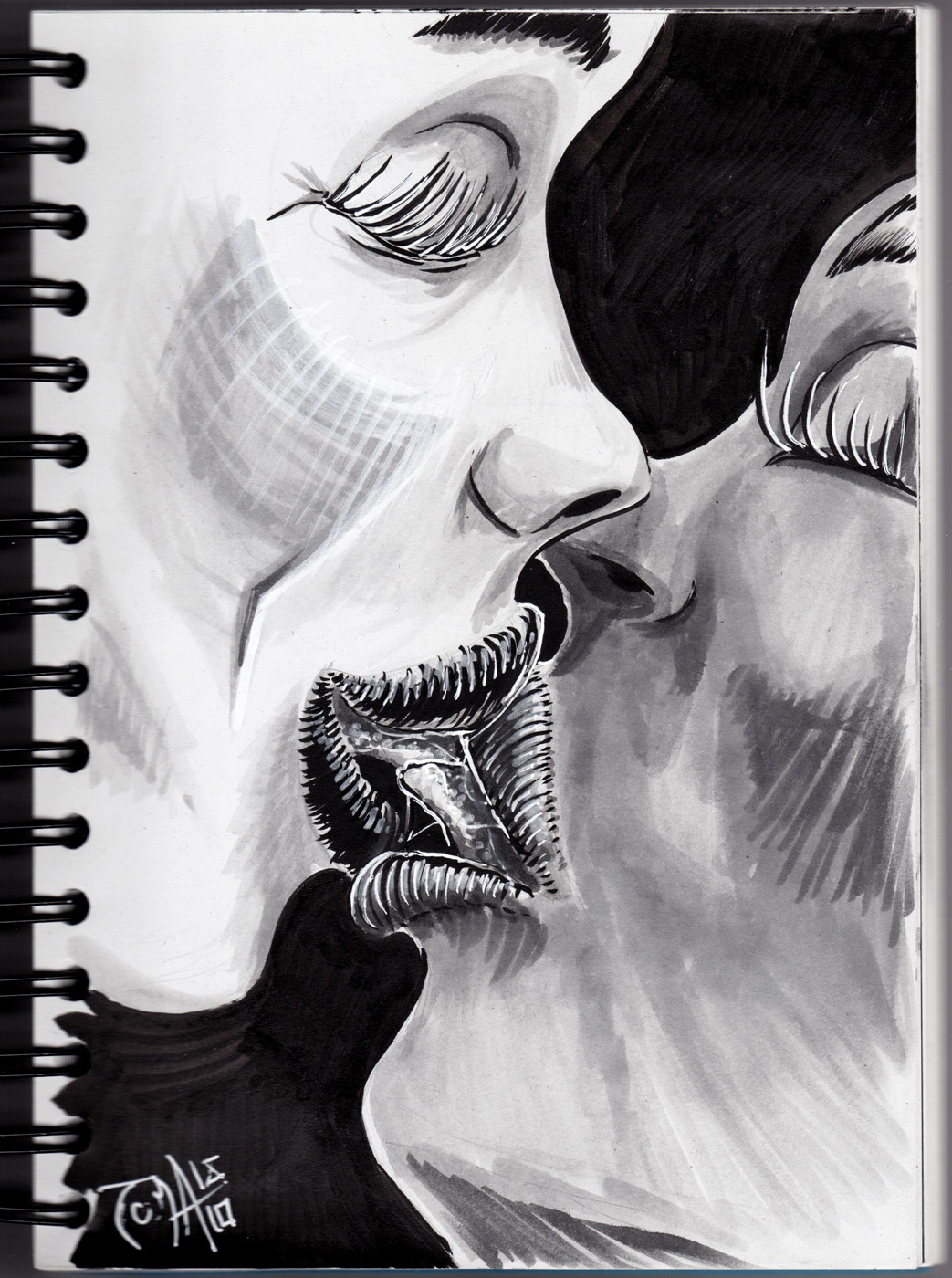 6.Drooling