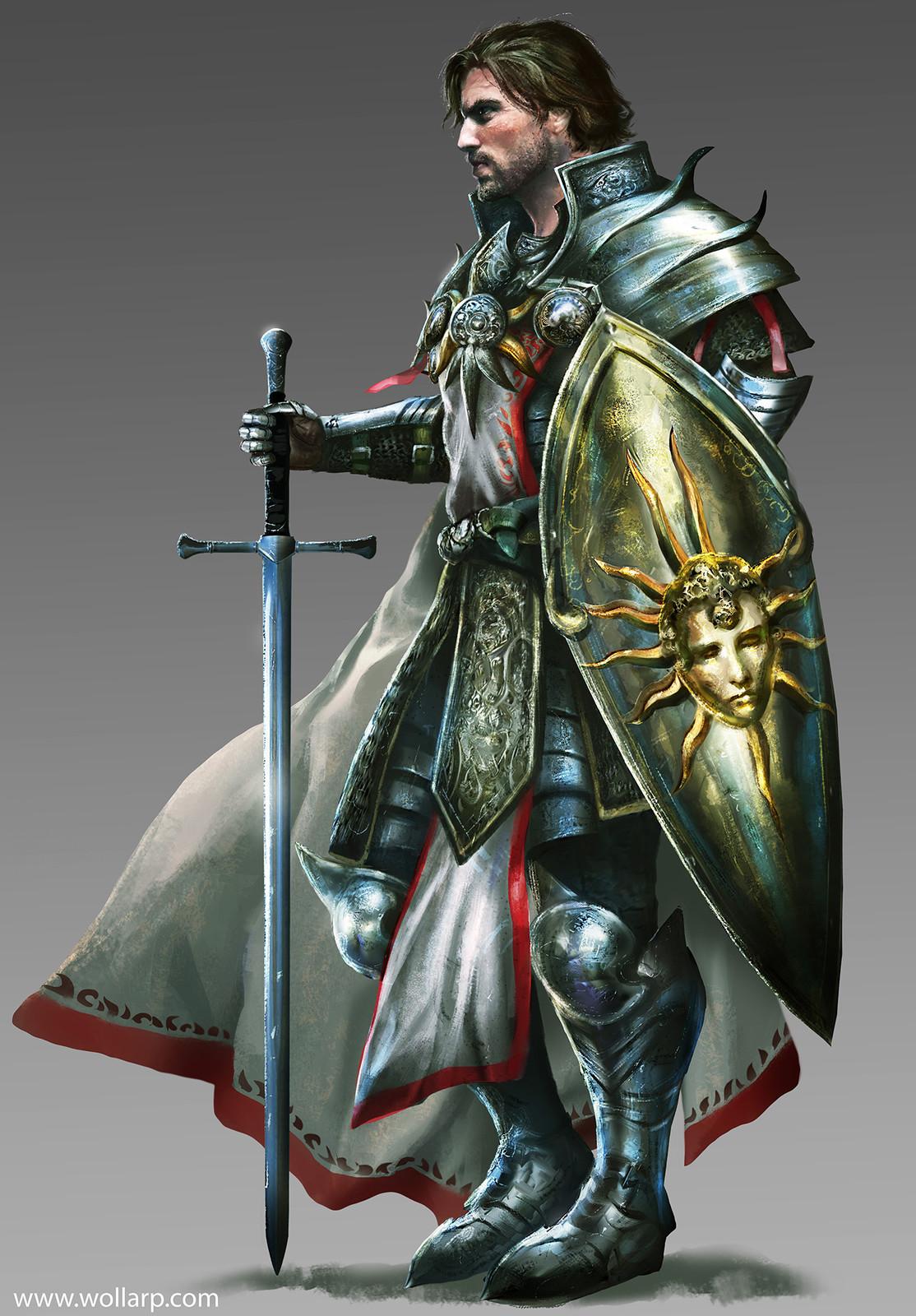 Warriors of Light- Sir Roland
