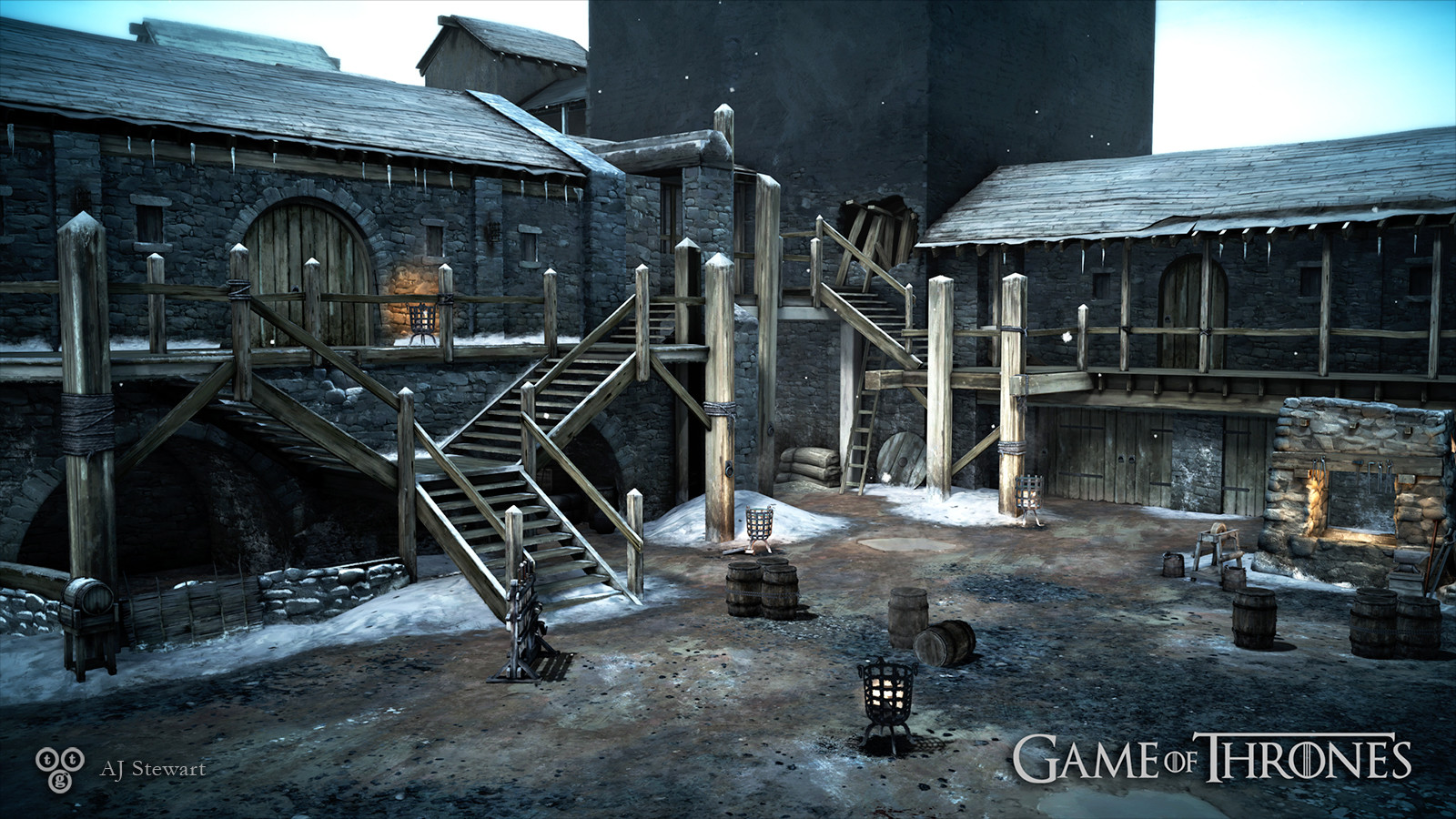 Artstation Game Of Thrones A Telltale Games Series Castle Black