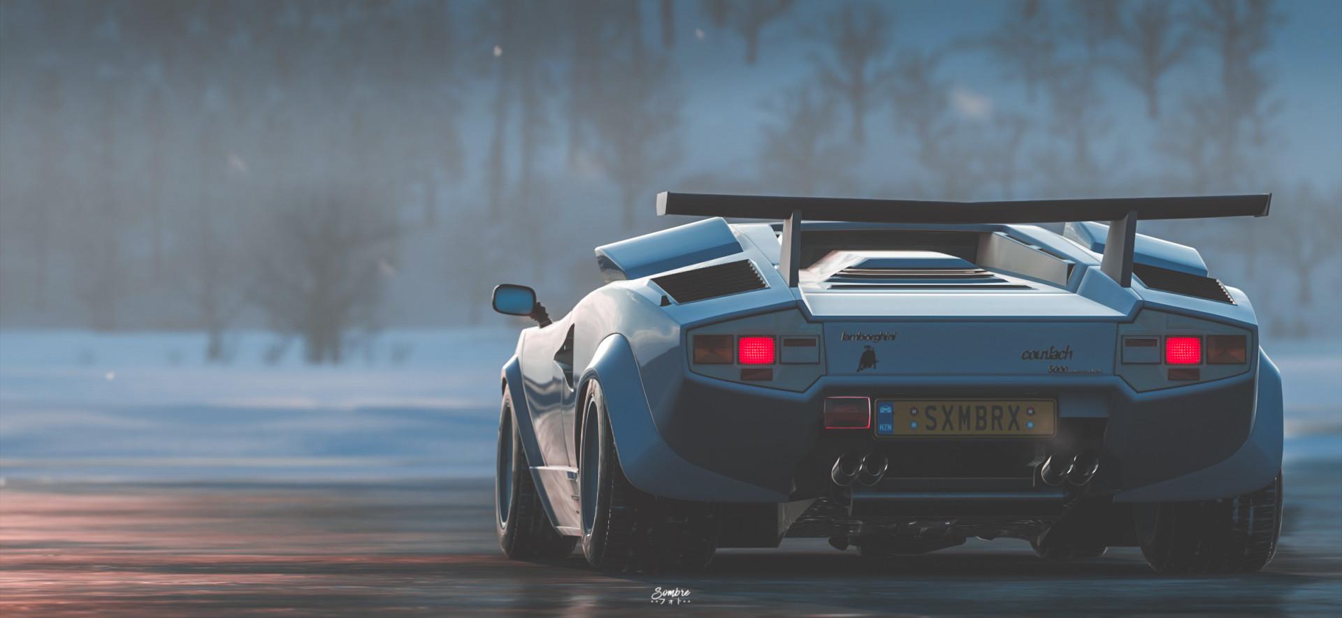 Artstation Lamborghini Countach Fh4 Yannick