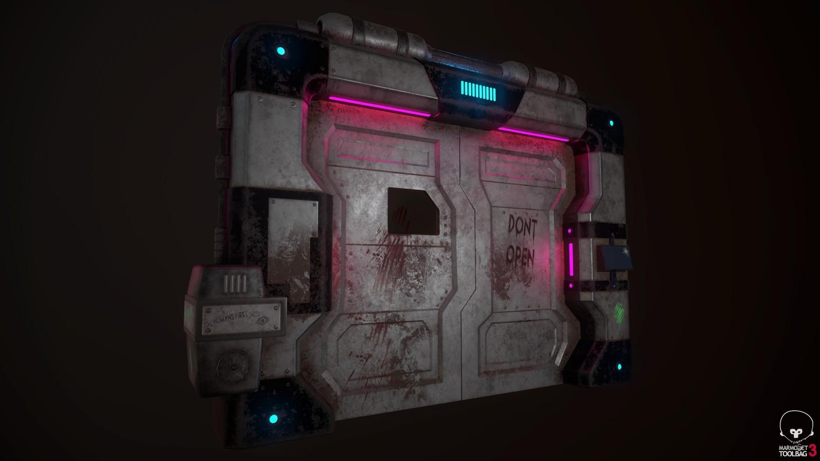 Sci-Fi Door
