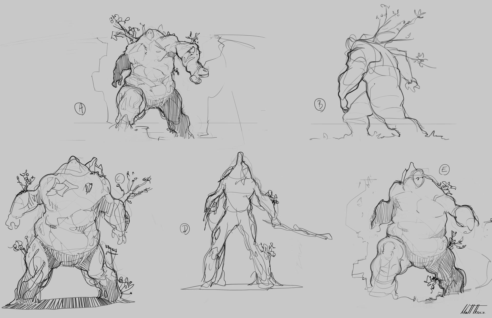 Matt tkocz giants sketches7