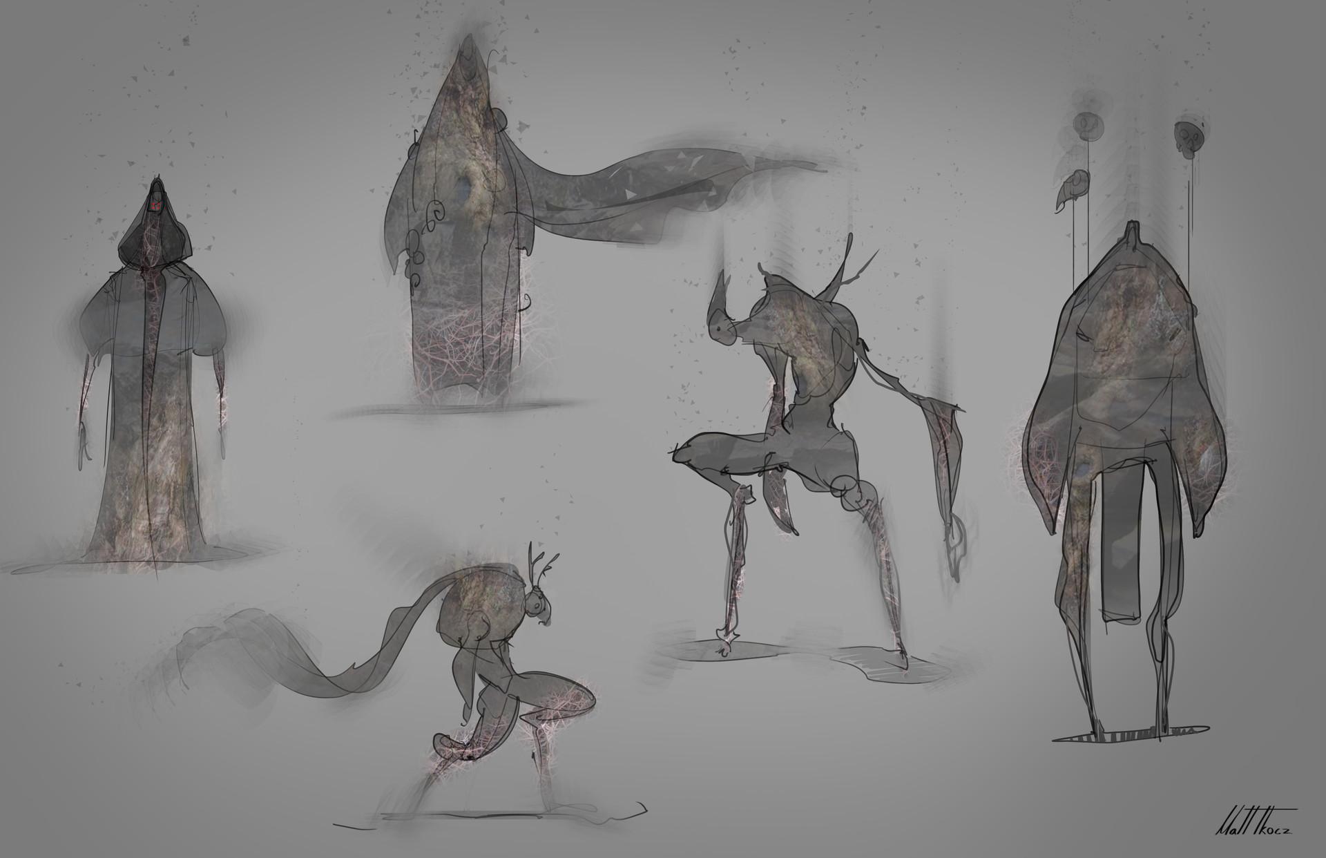 Matt tkocz harbingers sketches2