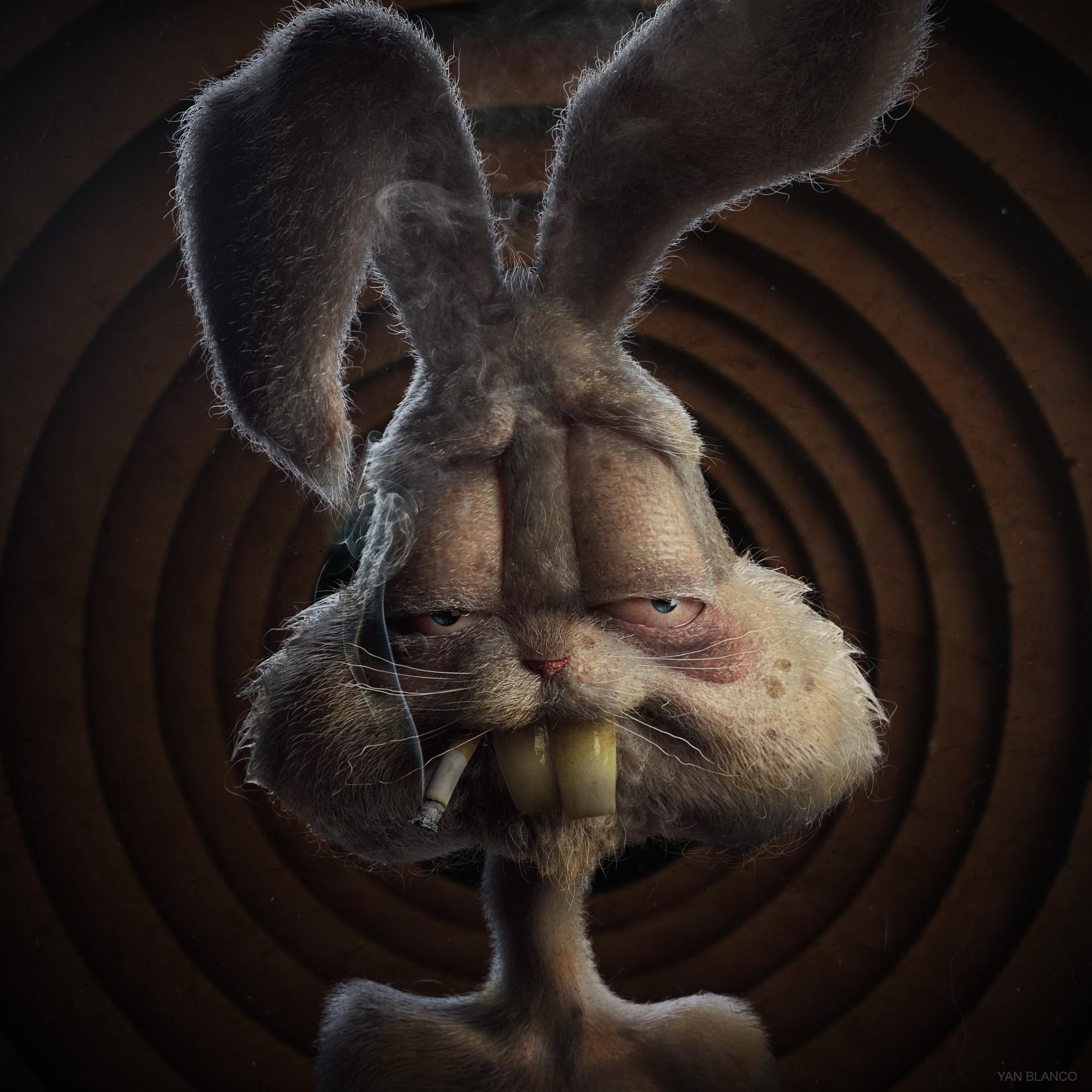 Artstation Bugs Bunny Yan Blanco
