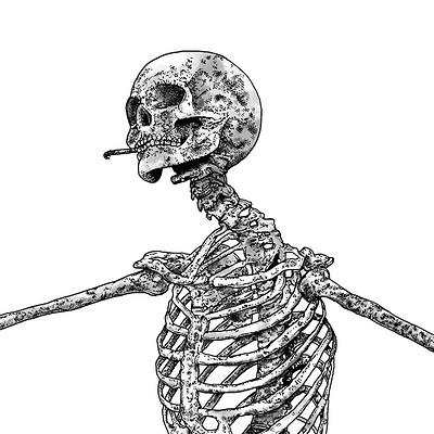 Marcus gabriel fors skelett fardig liv