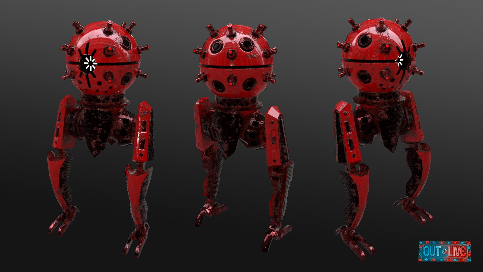 Kamikaze Robot