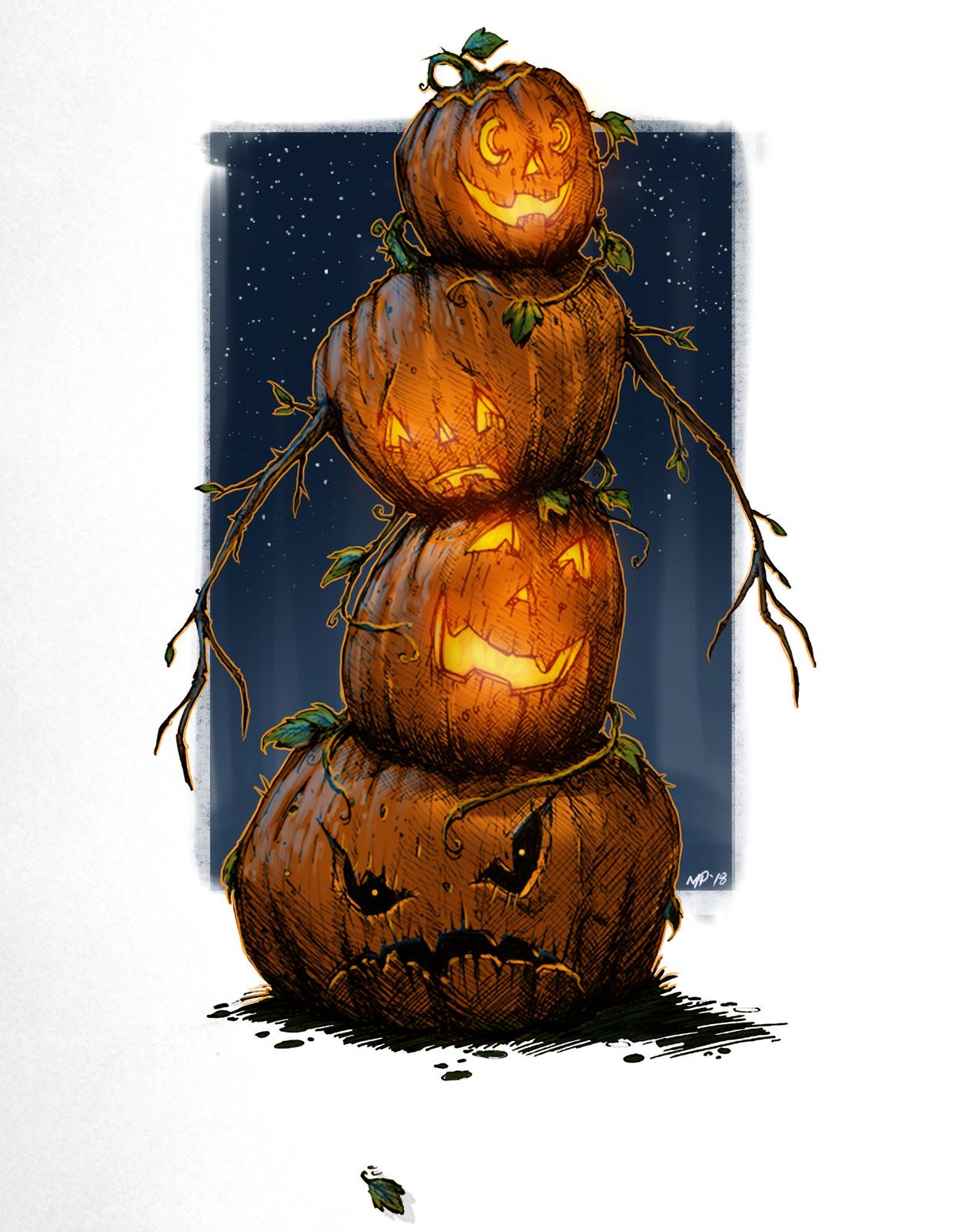 Pumpkin Man!