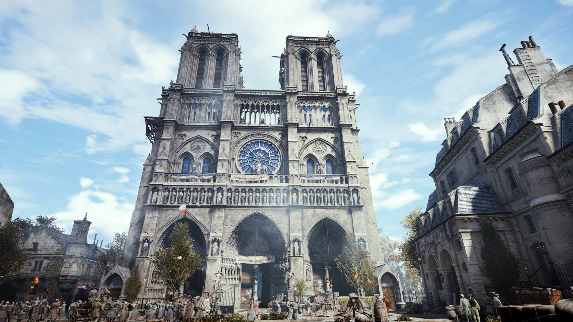 Pascal barriault 730764 downlox notre dame cathedral wallpaper 1920x1080
