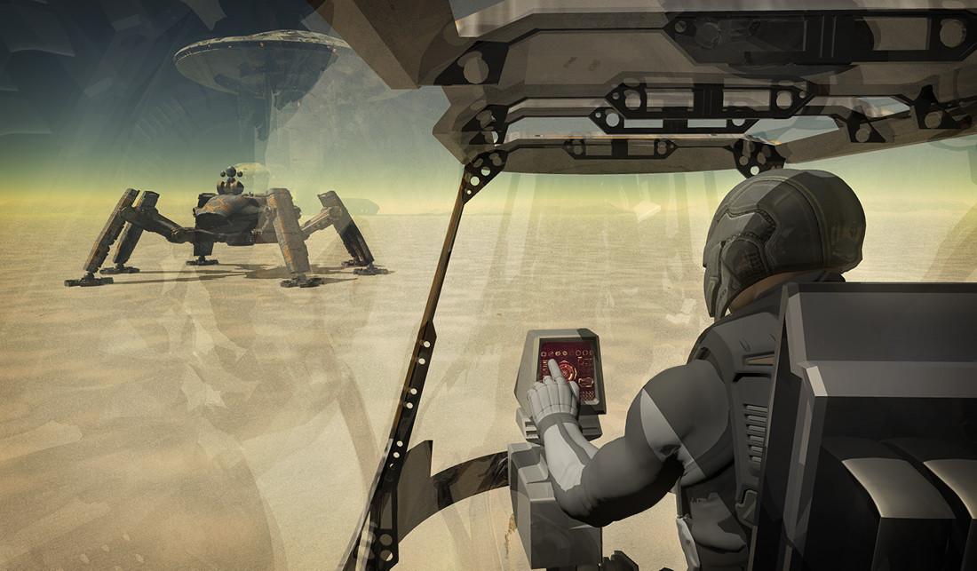 Luca oleastri elvira 2 cockpit