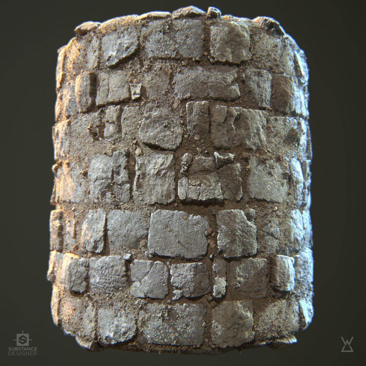 Wayne dalton stone floor 02