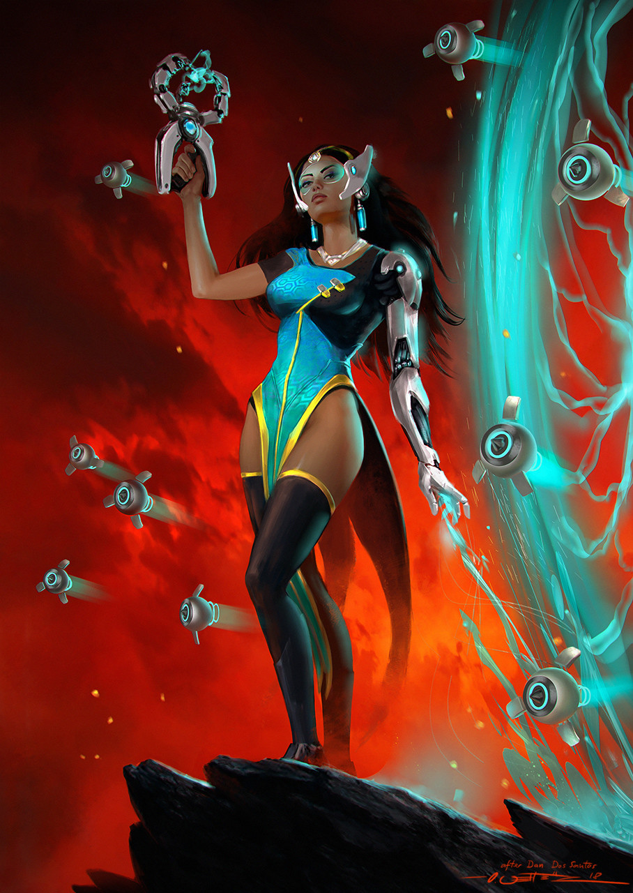 Symmetra - after Dan DosSantos