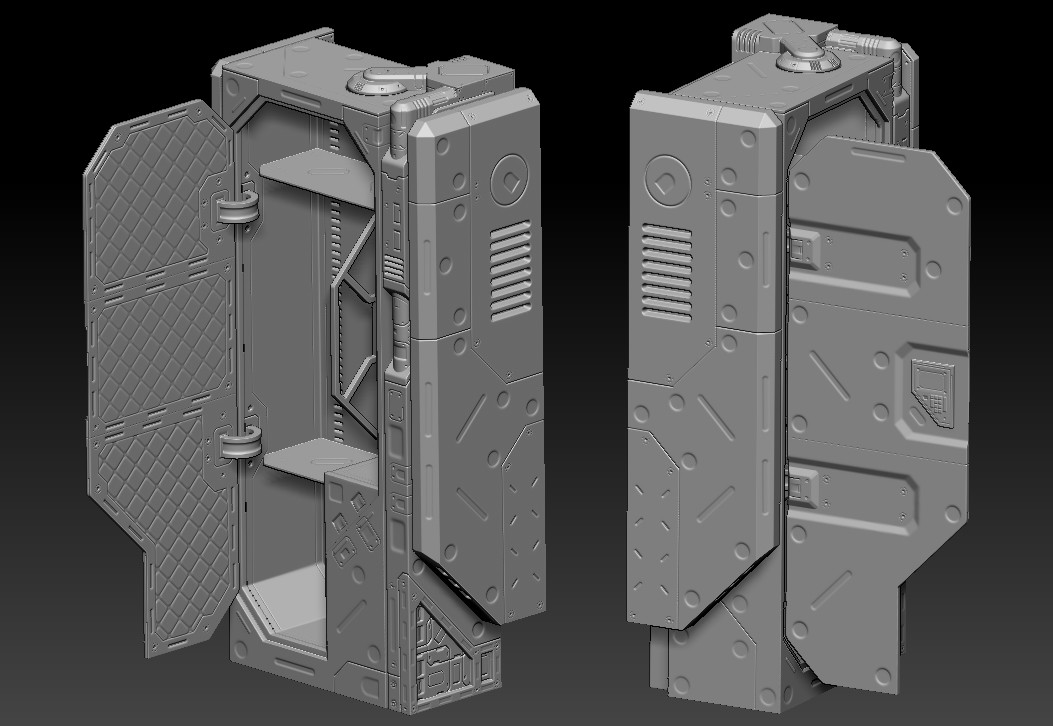 High poly on Zbrush